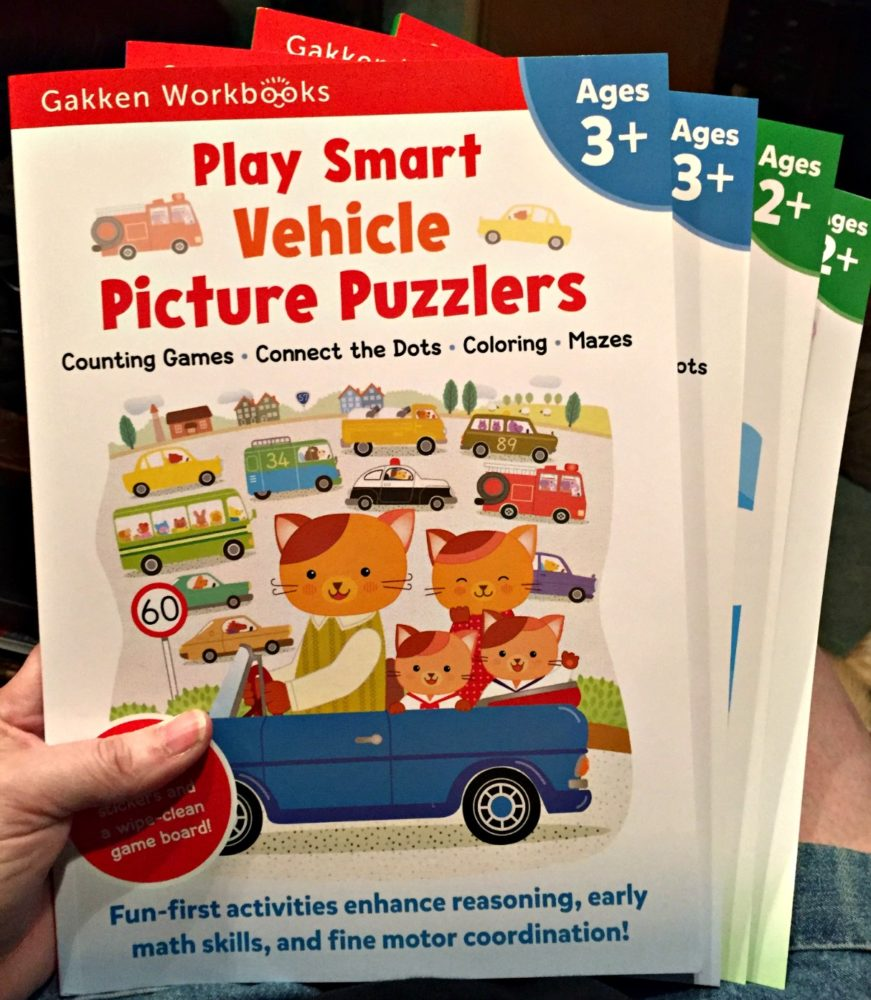 Play Smart Picture Puzzlers Books Are Fun For Kids!