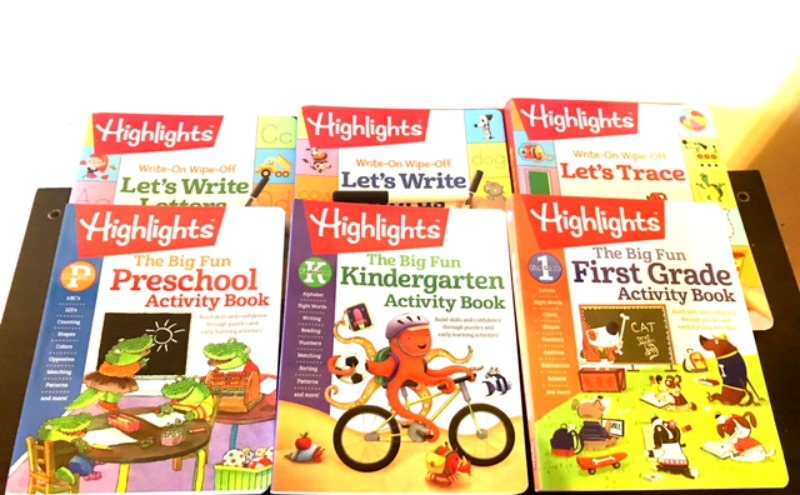 Avoid The Summer Slide with Highlights Engaging Activity Books