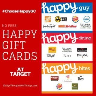 Happy Cards Coming To Target- No Fees! Plus a $50 Giveaway #ChooseHappyGC