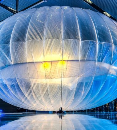 Loon Balloons Head to Kenya to Provide Internet Access