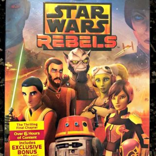 Star Wars Rebels: The Complete Fourth Season Available on Blu-ray™ and DVD on July 31st