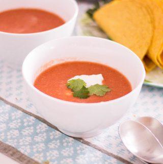 Lisa's Kitchen: Easy Gazpacho Recipe
