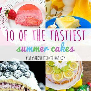 10 Of The Tastiest Summer Cakes