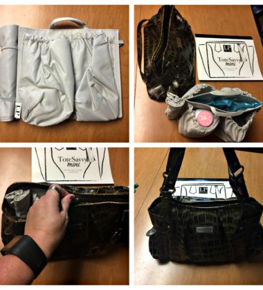 ToteSavvy Turns Any Handbag Into a Diaper Bag