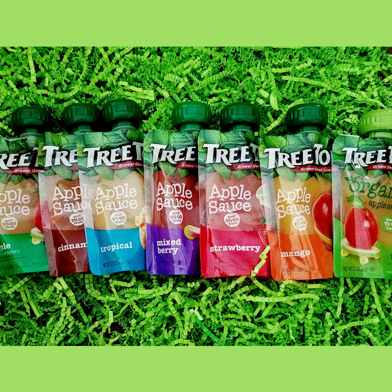 Tree Top Clear Apple Sauce Pouches For Back-To-School Lunches