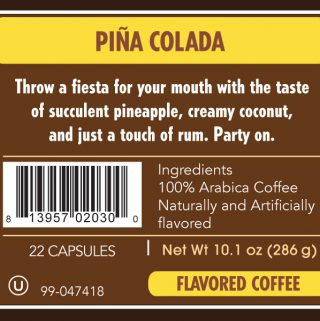 A Frozen Drink Thats A Coffee Too Pina Colada