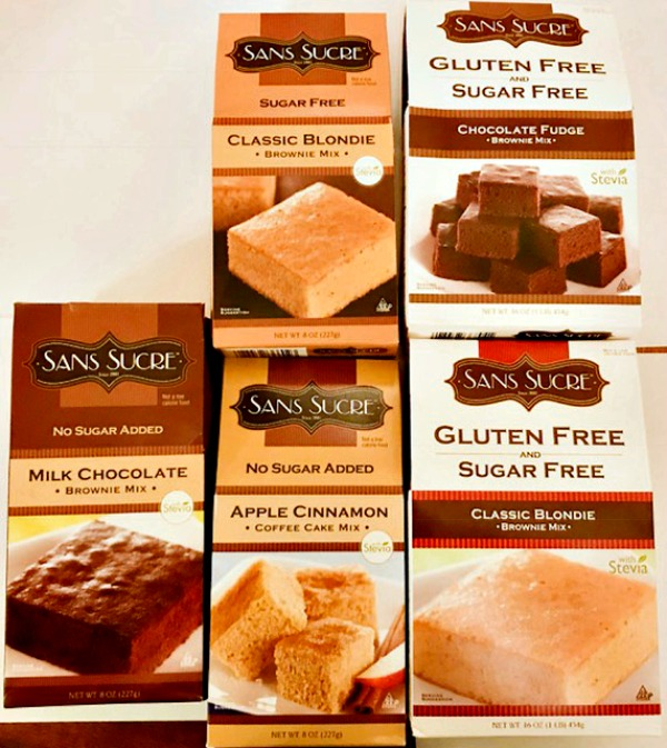 A Simple Way To Make Gluten Free & Sugar Free Desserts With Sans Sucre Baking Mixes