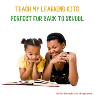 Back To School Giveaway: Teach My Learning Kits ends 8/31