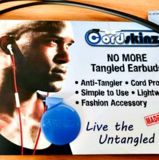 Get Rid of Tangled Cords with Cordskinz