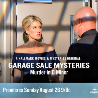 "Hallmark Movies & Mysteries ""Garage Sale Mystery: Murder in D Minor"" Premiering this Sunday, Aug. 26th at 9pm/8c!"