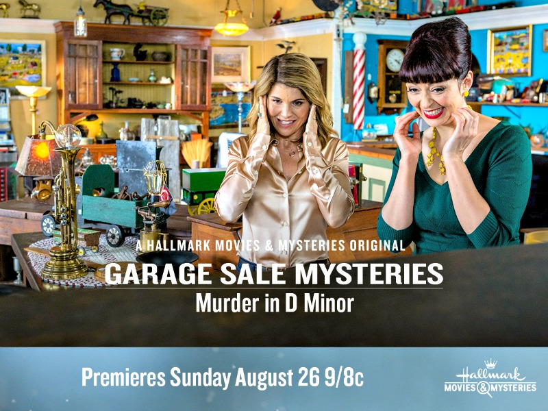 """Hallmark Movies & Mysteries """"Garage Sale Mystery: Murder in D Minor"""" Premiering this Sunday, Aug. 26th at 9pm/8c!"""