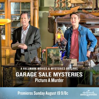 "Hallmark Movies & Mysteries ""Garage Sale Mystery: Picture a Murder"" Premiering this Sunday, Aug. 19th at 9pm/8c!"