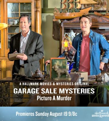 """Hallmark Movies & Mysteries """"Garage Sale Mystery: Picture a Murder"""" Premiering this Sunday, Aug. 19th at 9pm/8c!"""