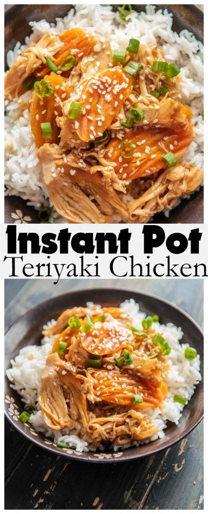 Instant Pot Teriyaki Chicken Recipe