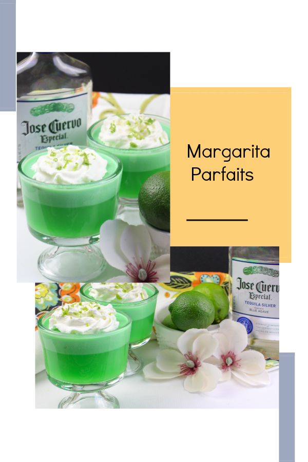 These margarita parfaits will surely be a treat for your next girls night in. This recipe works well as a sweet alcoholic dessert after you enjoyed a meal with your friends. Sit out on the patio, overlooking a beautiful view and enjoy conversations with your girlfriends while you dive into this margaritaparfait.