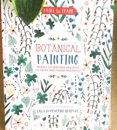Paint and Frame Botanical Painting with Frames Included