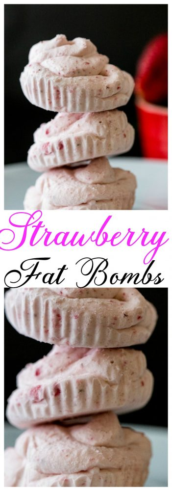 Strawberry Fat Bombs Recipe