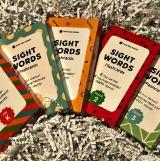 Tutoring Essentials – Think Tank Scholar Sight Words Flash Cards