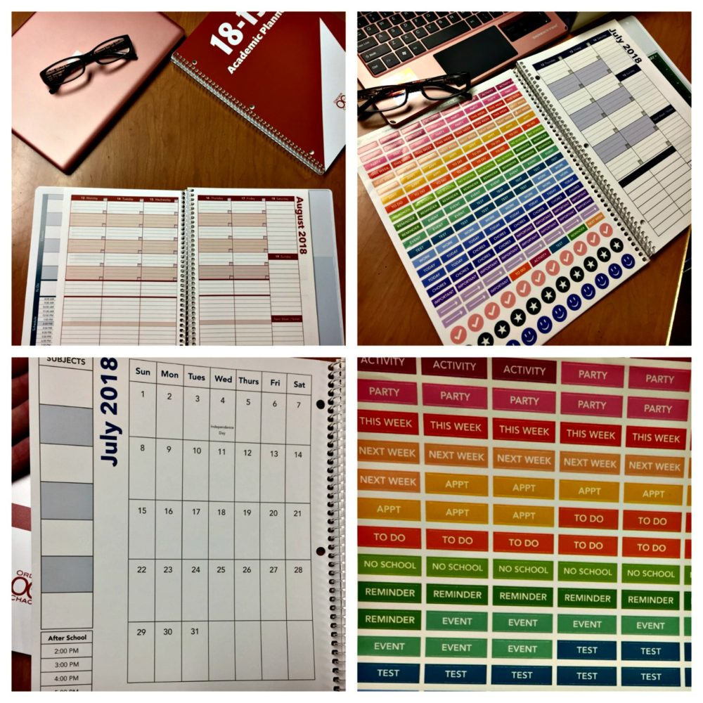 Help Students Get Organized With Academic Planners