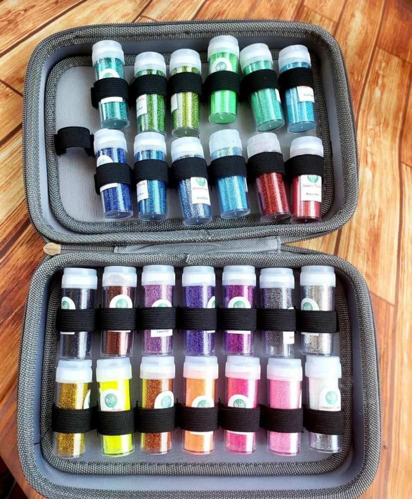 Glitter Craft Set- all the colors