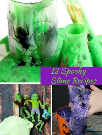 12 Spooky Slime Recipes