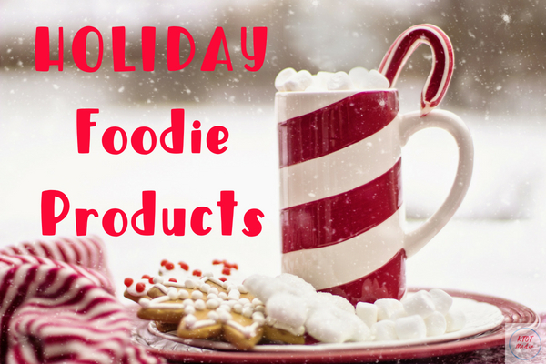 check out our gift guide for food and drinks. We here at Kelly's Thoughts on Things are working to bring you the tastiest products of the season.