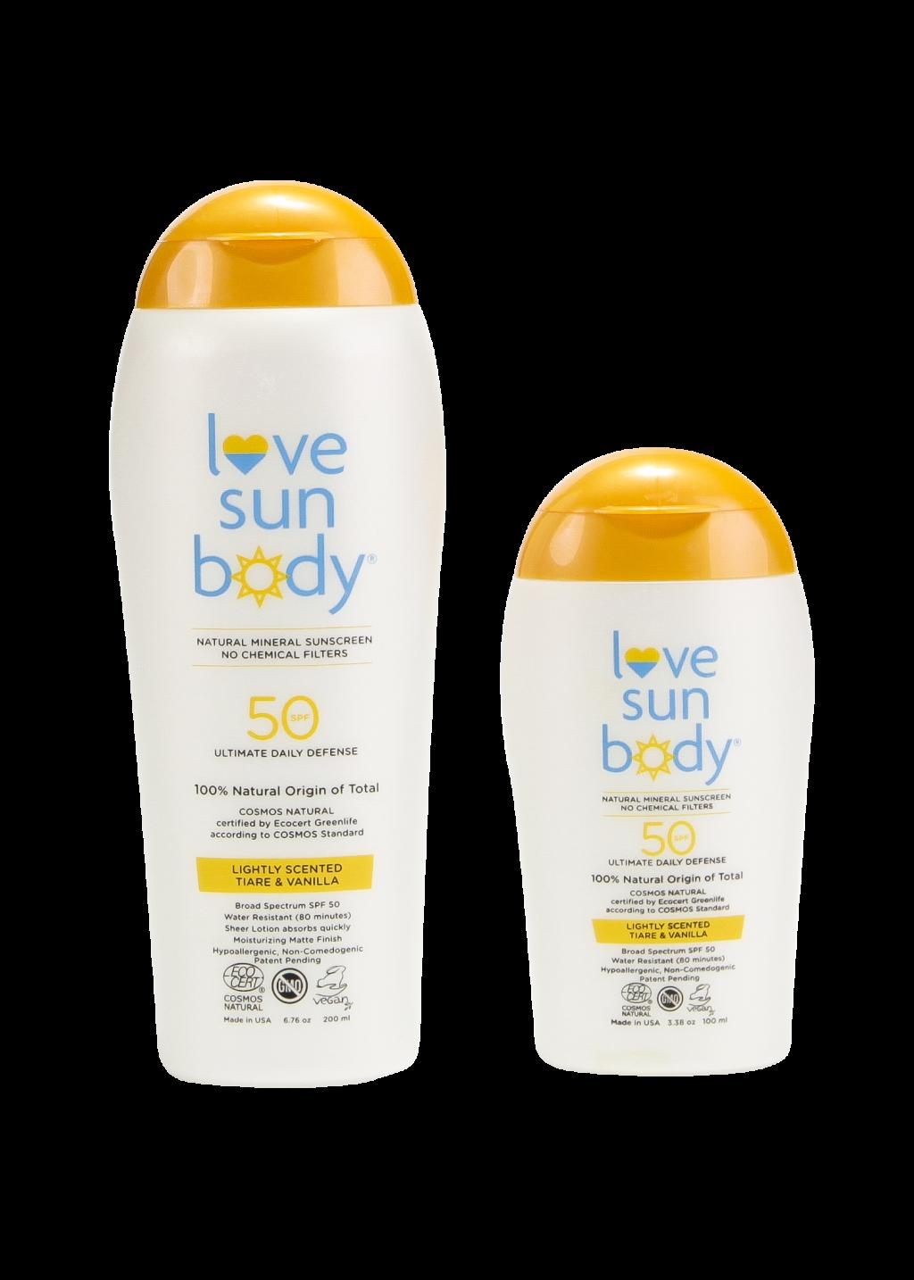 Love Sun Body Sunscreen
