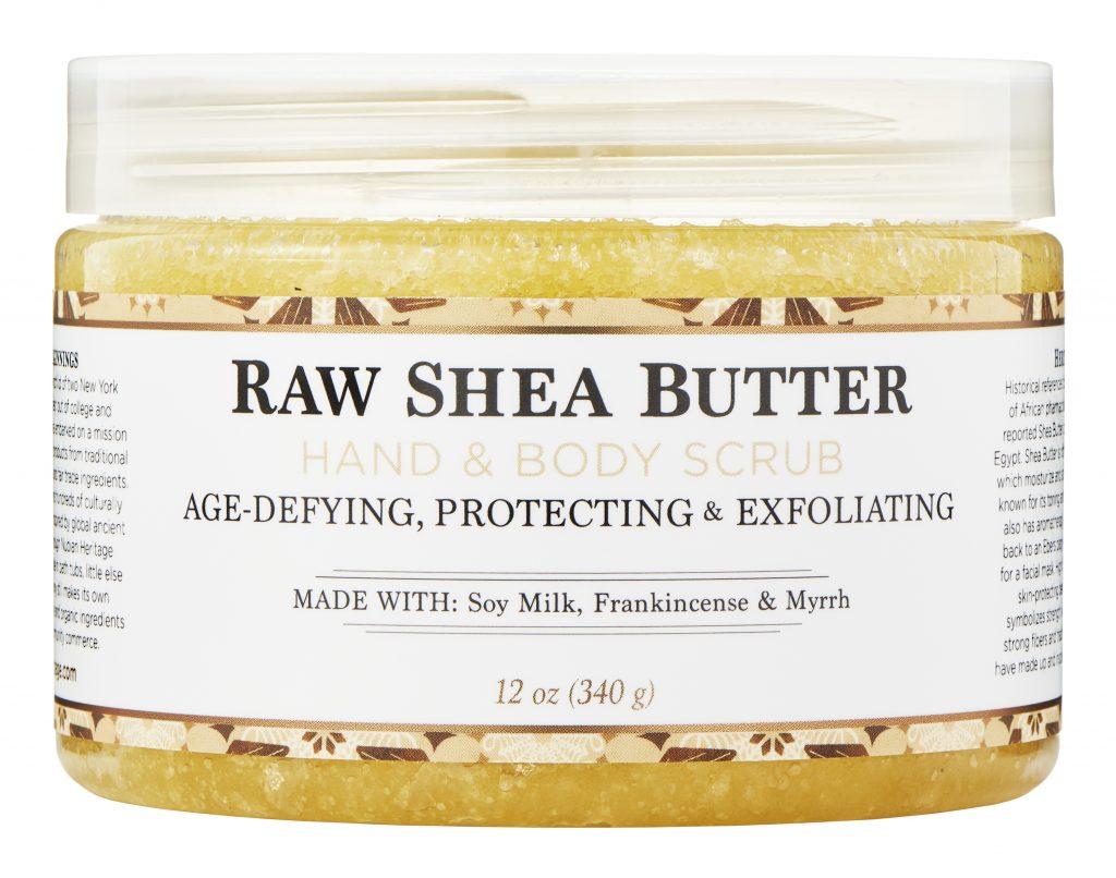 Nubian Heritage Raw Shea Butter Hand & Body Scrub
