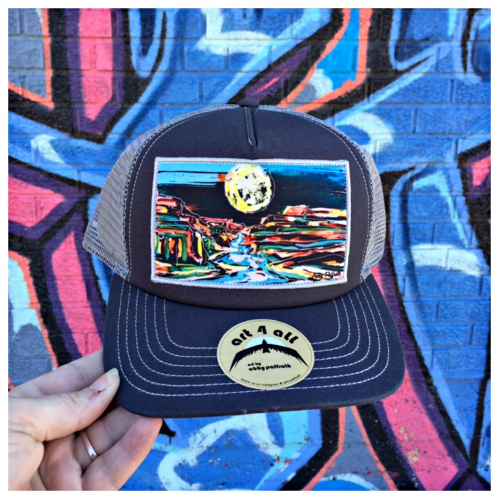 Beautiful Trucker Hats From Art 4 All - Kellys Thoughts On Things e50ceaf2c1cf