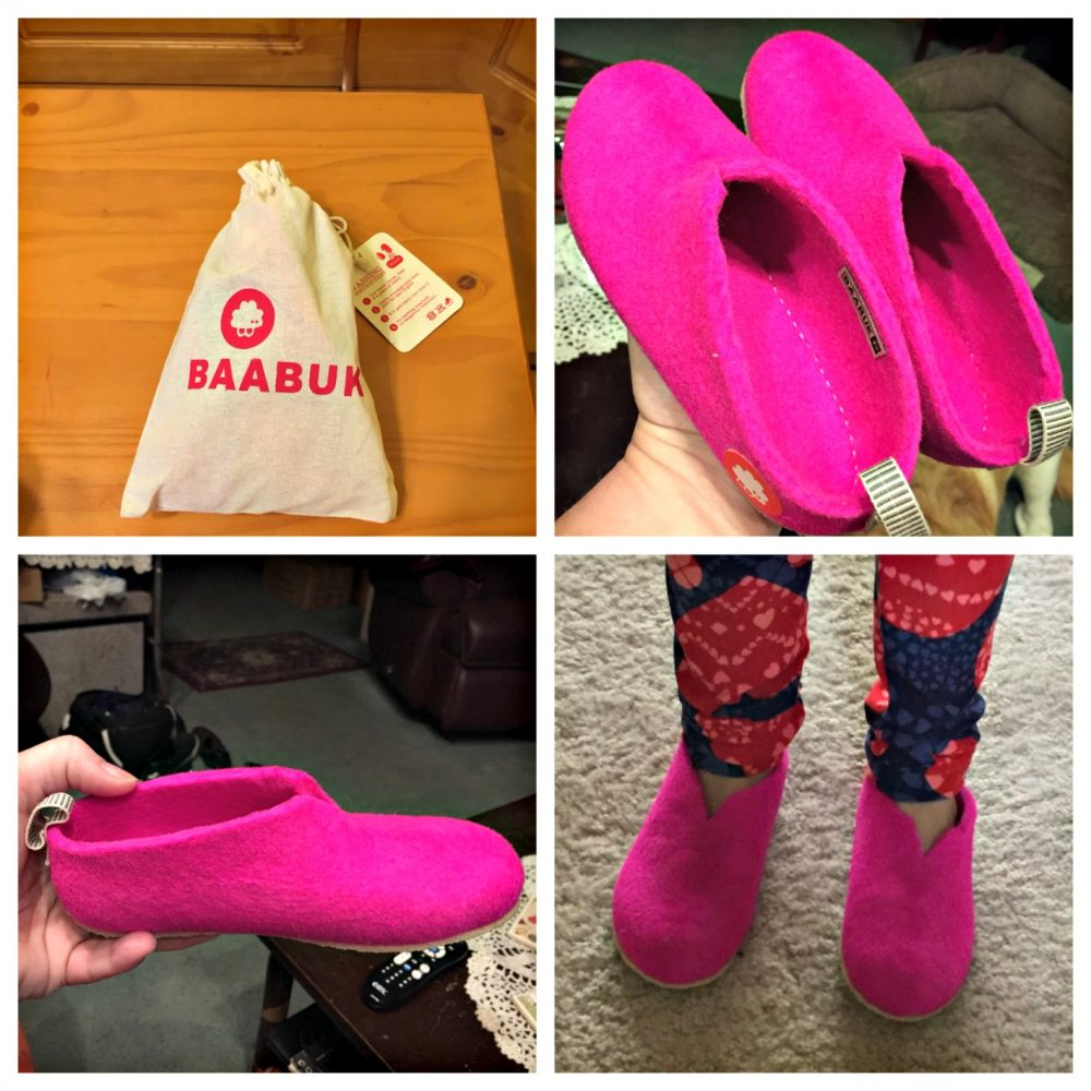 Baabuk Slippers are Great for Back to School!