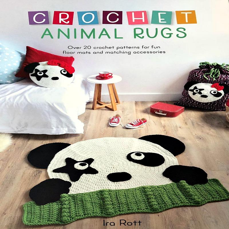 Crochet Animal Rugs Beautiful Patterns | The WHOot | 800x800