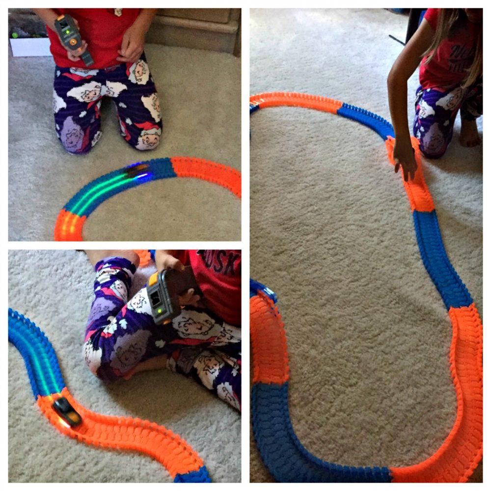 A Flexible Racetrack That Glows!