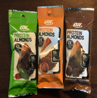 Make Smart Snack Decisions With ON Protein Almonds