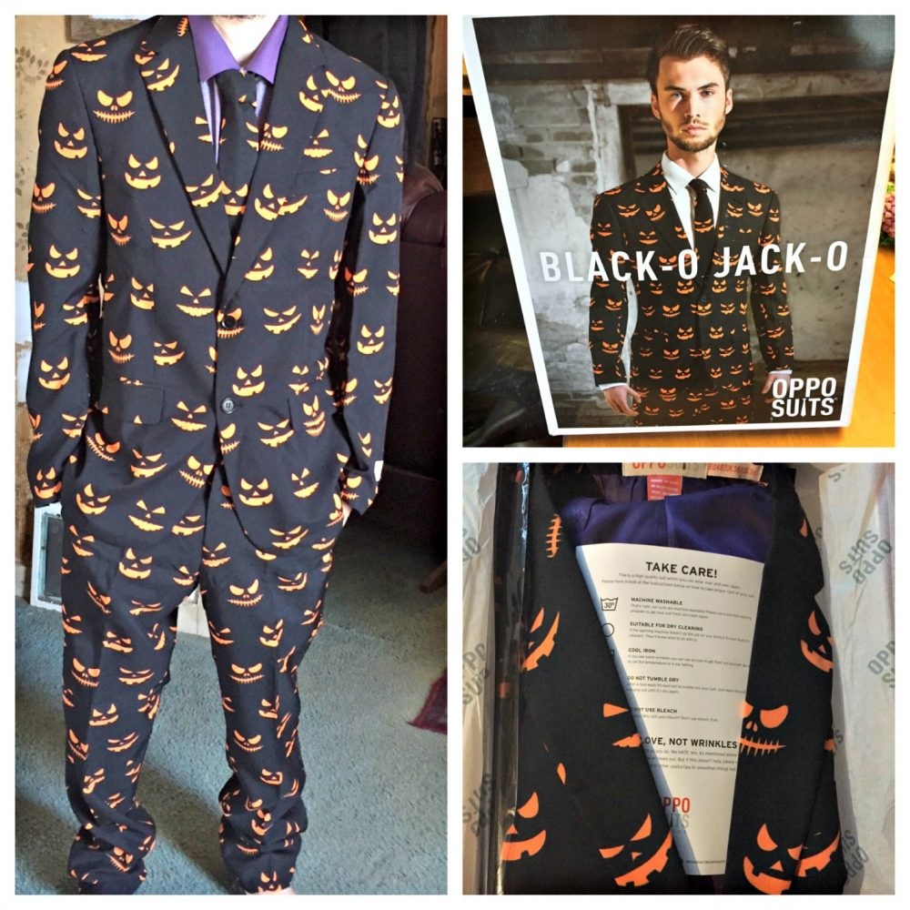 Dress up For Halloween in a Suit
