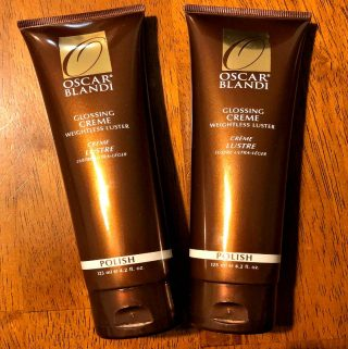 Try Oscar Blandi Glossing Creme To Tame The Frizz