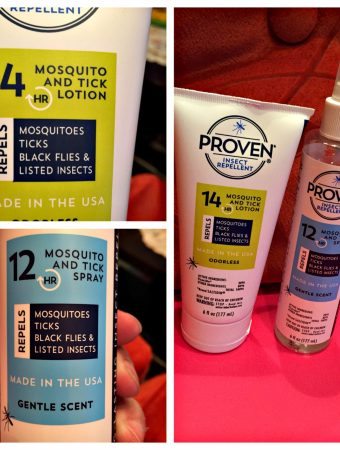 Proven Repellent Works Without Harmful Chemicals Against Biting Insects