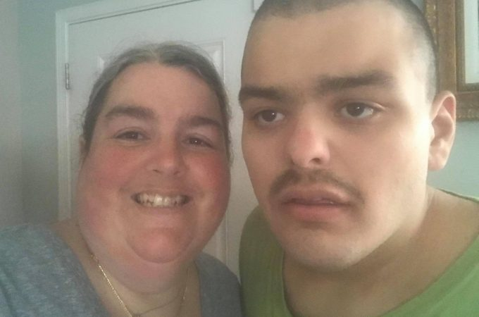 Mom and her autistic adult son