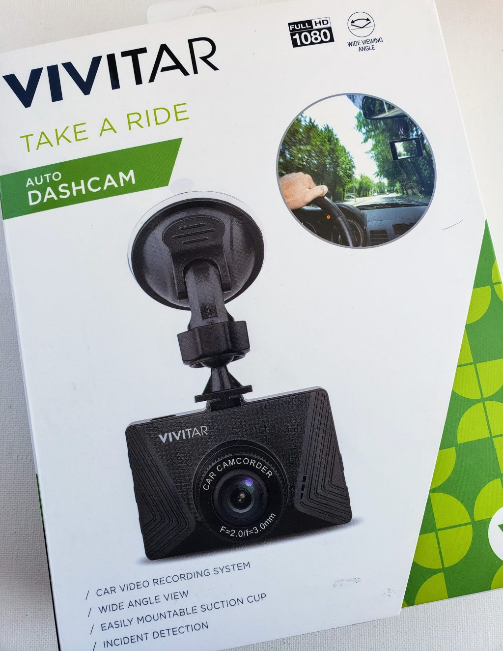 Holiday Gift Guide -DASHCAM FULL HD