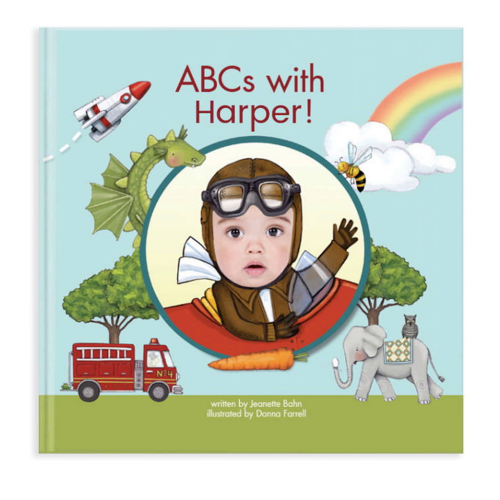 Discover letters, words and an adorably familiar face in this unique, award-winning alphabet book, starring your child. And long after mastering the ABCs, this personalized book will make a wonderful keepsake for your child