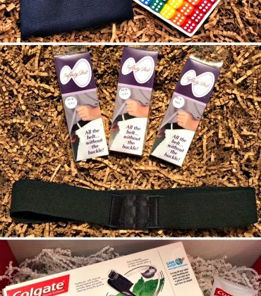 Amazing Stocking Stuffers – Poppycock Dice Game, InfinityBelt and Colgate Essentials 1