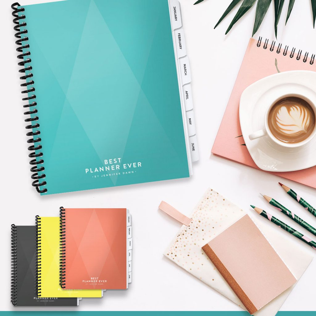 Plan Your Best Life Ever-Enjoy More Success, Joy, & Work-Life Balance Designed by top business coach Jennifer Dawn as a productivity tool for her clients, the Best Planner Ever quickly became their go-to tool for stellar productivity, increased revenues, and more free time to enjoy their success.
