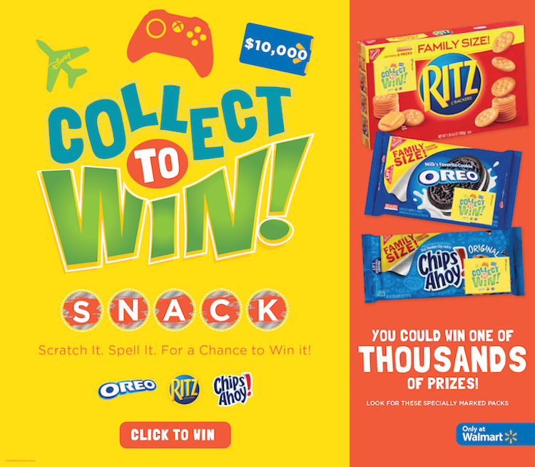 Collect To Win-Walmart GAME