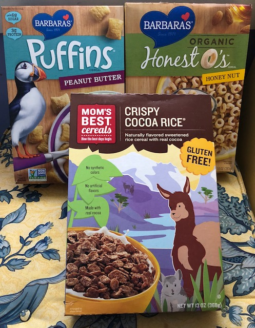 Breakfast and Snack-Time Solutions with Barbara's and Mom's Best Cereals 2