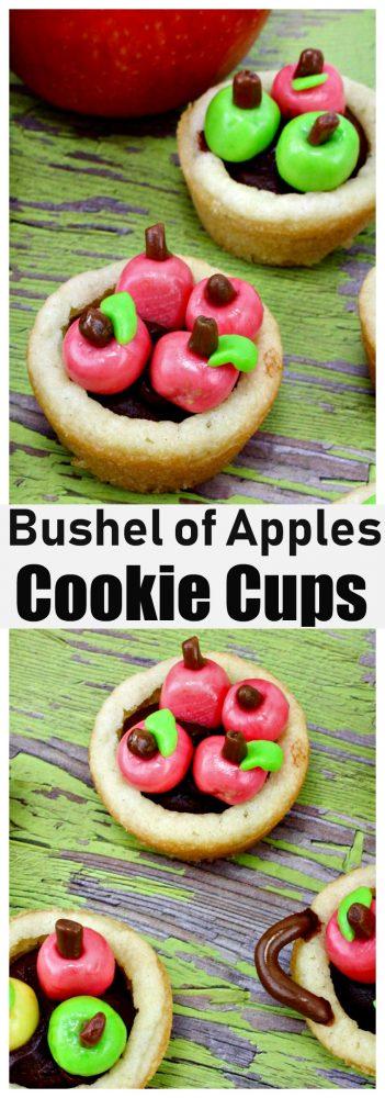 Bushel of Apples Cookie Cups