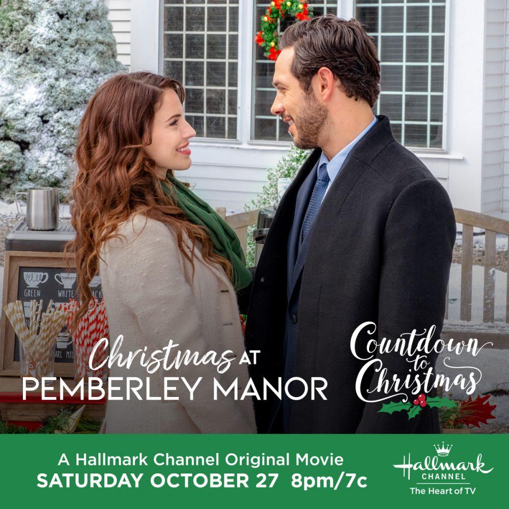 Christmas At Pemberley Manor.Hallmark Channel S Christmas At Pemberley Manor Premiering