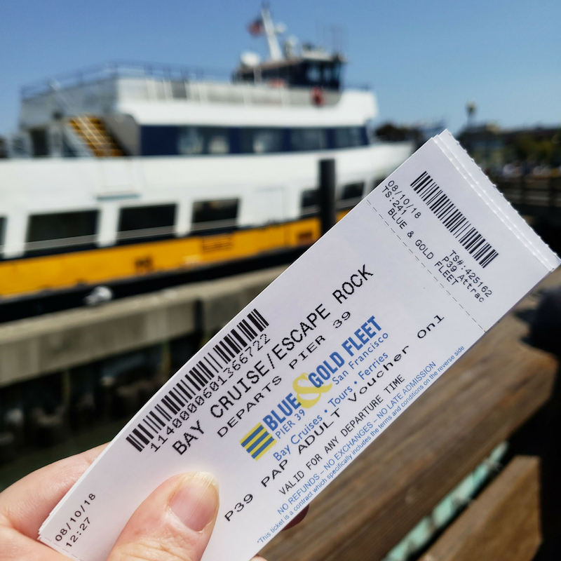 Boat and tickets for Cruise