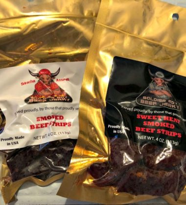Enjoy Delicious Soldier Boy Beef Jerky While Giving Back