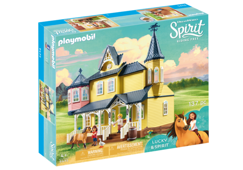 Extend The Adventurous Experience Of DreamWorks Spirit Riding Free