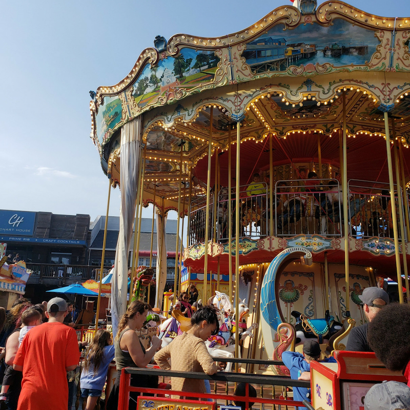 Ferris Wheel at Pier 39