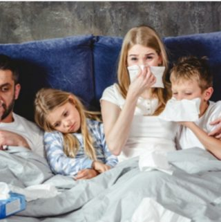 Feverish Family: A Guide To Taking Care of Children When ill